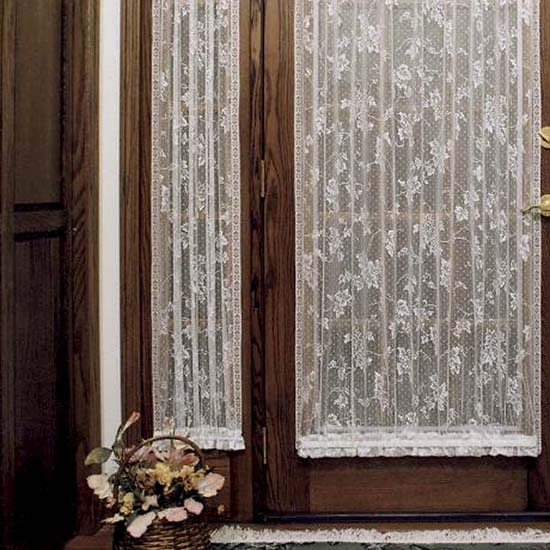 English Ivy 24″ x 72″ Sidelight Panel – Heritage Lace – Timeless & Classic Collection  – 9130E-2472SL, 9130W-2472SL