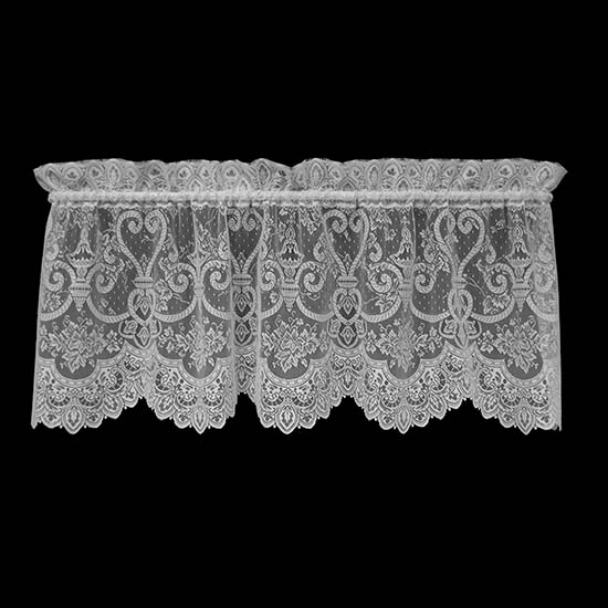 English Ivy Valance - Heritage Lace Timeless & Classic Collection 9130E-6022, 9130W-6022