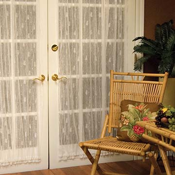 Pineapple 45″ x 72″ Door Panel – Heritage Lace – Timeless & Classic Collection – 7170E-4572DP, 7170W-4572DP