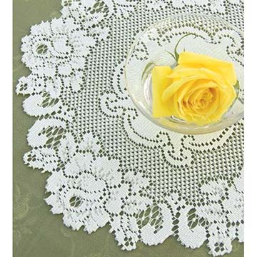 Vintage Rose 15″ Doily – Heritage Lace – Timeless & Classic Collection  – VT-1500E, VT-1500W