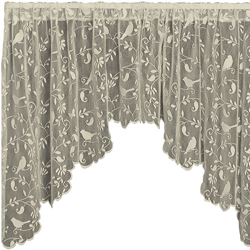 Bristol Garden Swag Pair 72&#8243;x36&#8243; &#8211; Heritage Lace &#8211; Transitional Collection &#8211; 6305CS-36PR, 6305WS-36PR