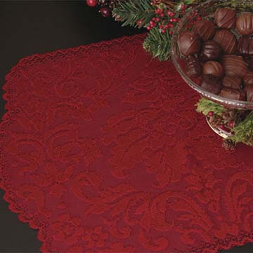 Heritage Damask Placemat (set of 2) - Heritage Lace HD-1420PL, HO-1420RD - RETIRED