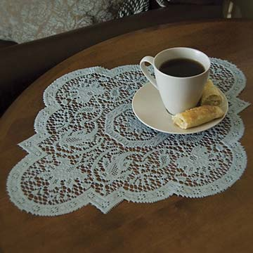 Medallion 16″ x 20″ Doily – Heritage Lace – Transitional Collection – MN-1620BH, MN-1620C, MN-1620ER