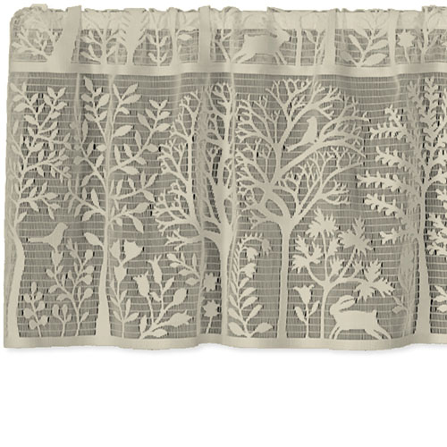 Rabbit Hollow Valance - Heritage Lace Country Home Collection 6315C-6015, 6315W-6015, 6315PO-6015