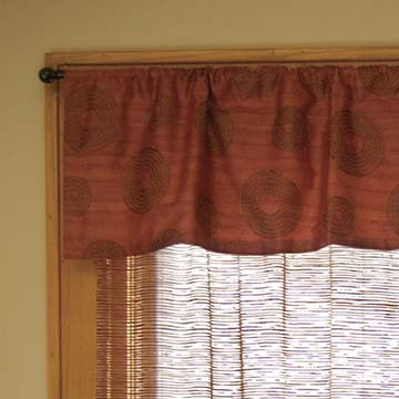 Serenity Valance - Heritage Lace - Transitional Collection - SY-5216AG, SY-5216OB, SY-5216RU