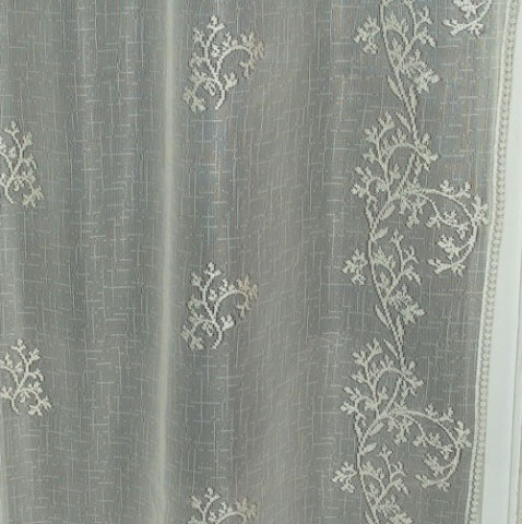 Curtains Ideas cheap lace curtain panels : Sheer Divine 84″ Panel – Heritage Lace 8220E-6084, 8220X-6084 ...