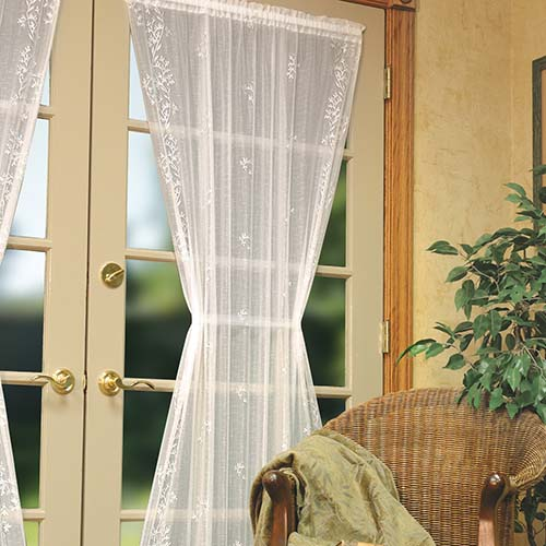 Sheer Divine 60″ x 96″ Panel – Heritage Lace – Transitional Collection – 8220E-6096, 8220X-6096, 8220W-6096