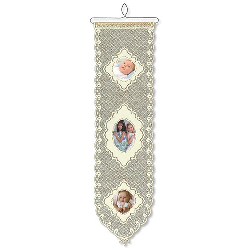 Picture Perfect II Wall Hanging WH-035E - Heritage Lace