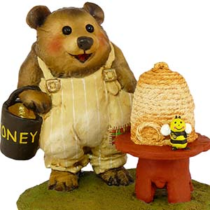 BB-11 Honey Bear - Wee Forest Folk Collectible - Bears