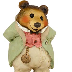 BB-12 Grandfather Bear – Wee Forest Folk Collectible – Bears