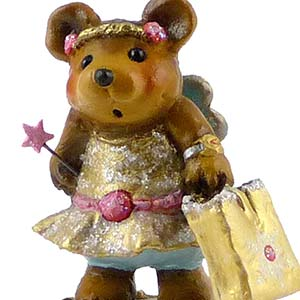 BB-15a Sugar Plum Fairy Bear – Wee Forest Folk Collectible – Bears