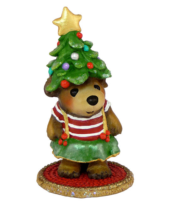 BB-17 My Holiday Hat – Wee Forest Folk Bears – Christmas