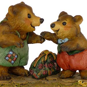 BB2 Welcome Home!  Wee Forest Folk Collectible  Bears