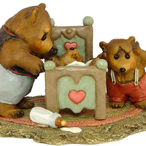 BB-5 Father's Night - Wee Forest Folk Collectible - Bears