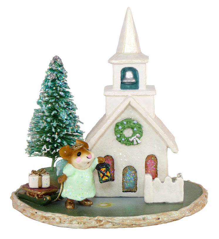 M-263 Midnight Clear &#8211; RETIRED Wee Forest Folk Collectible