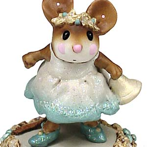 M-304b Jingle Belle - Wee Forest Folk Christmas