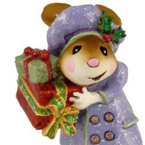 M-326 Mary's Christmas - Wee Forest Folk Collectible