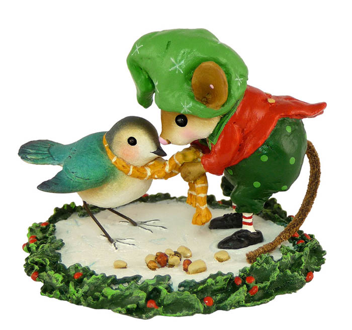 M-351 Helpful Elf – Wee Forest Folk Collectible