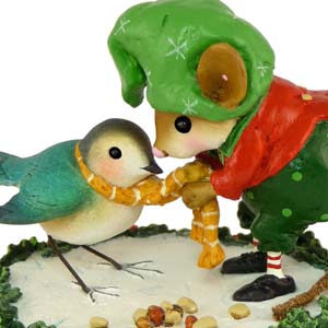 M-351 Helpful Elf - Wee Forest Folk Collectible