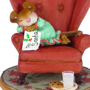 M-472 Waiting Up… – Wee Forest Folk Collectible