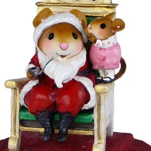 M-473a Her Wish List - Wee Forest Folk Collectible