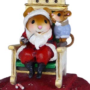 M-473b His Wish List &#8211; Wee Forest Folk Collectible