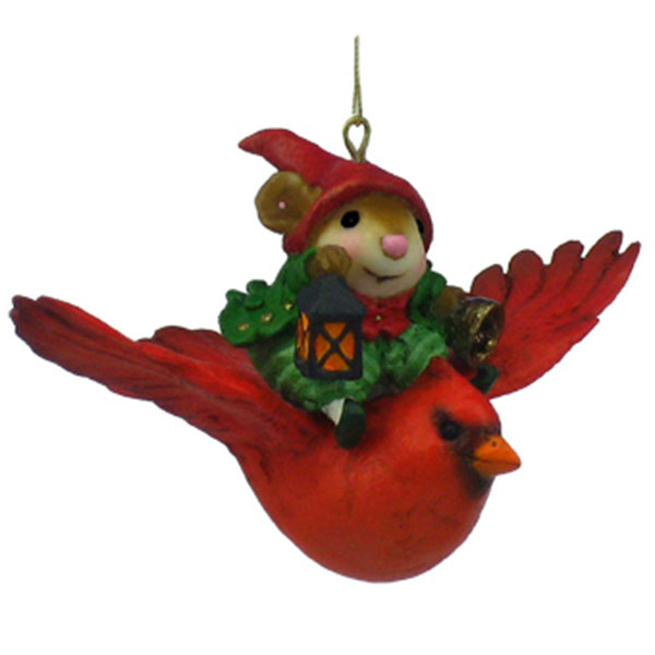 CO-2 Aerial Elf Christmas Ornament - Wee Forest Folk