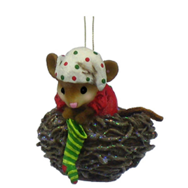 CO-3 Cozy Nest  Christmas Ornament - Wee Forest Folk