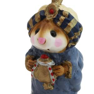 M-121a Wise Man w/Turban  Wee Forest Folk Christmas Pageant