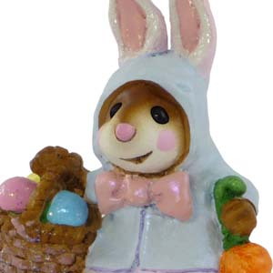 M-306 Miss Esther Bunny - Easter Wee Forest Folk Collectible
