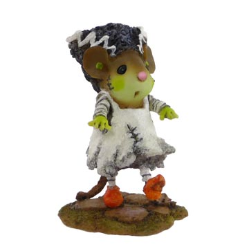 M-440 Bride of Frankenmouster– Wee Forest Folk Collectible – Halloween