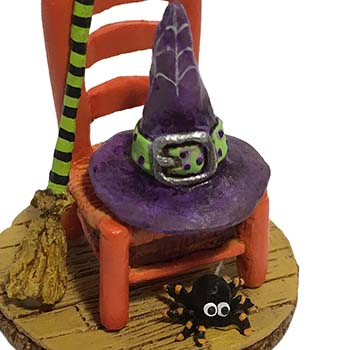 A-38 Witchy's Hip Hat & Broom