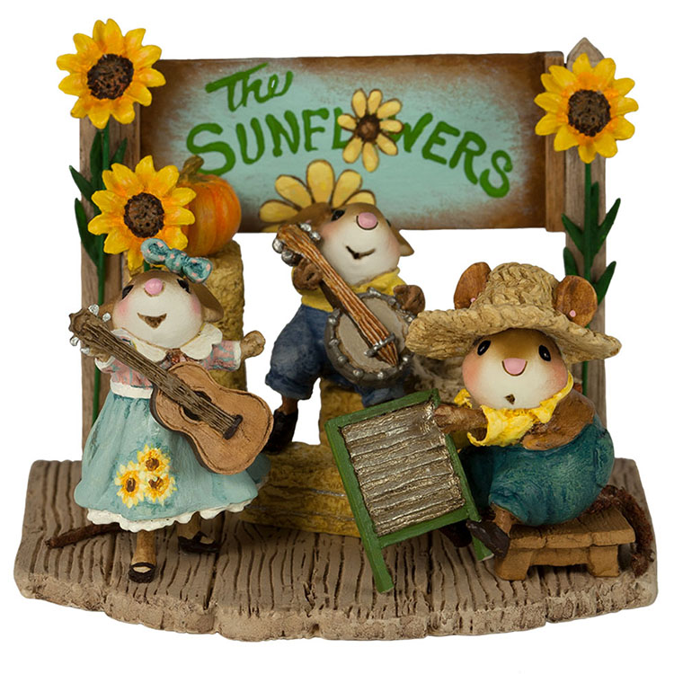M-438a The Swinging Sunflowers – Fall Festival – LIMITED