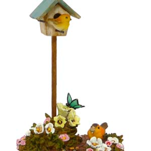 A-10 Birdhouse  Wee Forest Folk Collectible