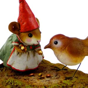 M-392 Mrs. Gnome - Wee Forest Folk Collectible