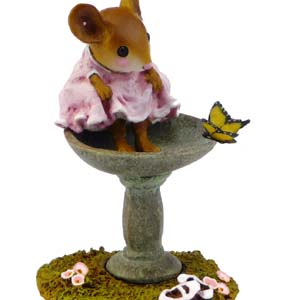 M-394 Garden Spa - Wee Forest Folk Collectible