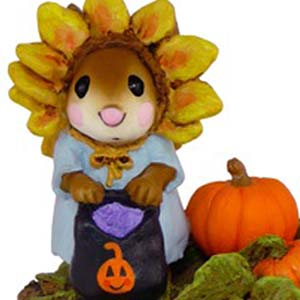 M-338 Sunflower Dress Up - Wee Forest Folk Collectible - Halloween