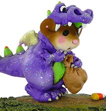 M-377 Dragon Dress-Up - Wee Forest Folk Collectible - Halloween