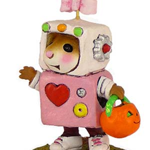 M-399b Rosie Robot - Halloween Wee Forest Folk Collectible