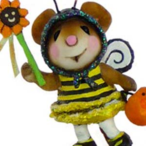 M-414 Bee Fancy - Halloween Wee Forest Folk Collectible
