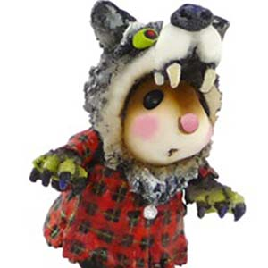 M-441 Were&#8217;s the Wolf? &#8211; Halloween Wee Forest Folk Collectible