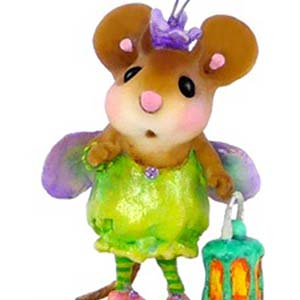 M-442 L&#8217;il Glowbug &#8211; Halloween Wee Forest Folk Collectible