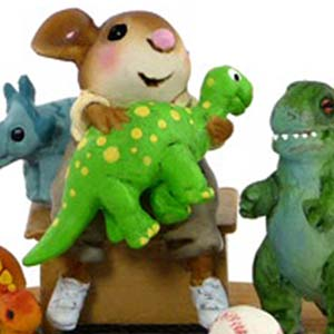 M-438 Jurassic Jamboree – Wee Forest Folk Collectible