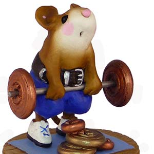 MS-24a Heavyweight &#8211; RETIRED Wee Forest Folk Collectible