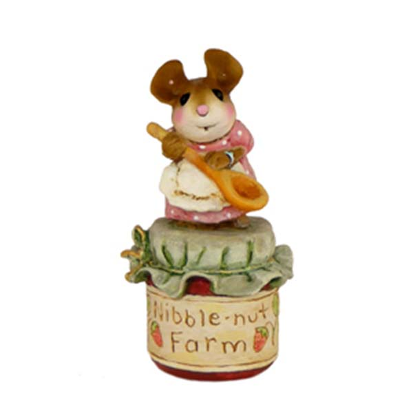 TM-2 Li'l Jar of Jam – Wee Forest Folk Collectible