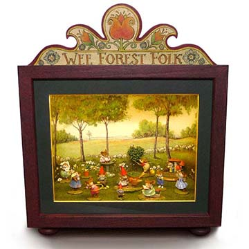 Wee Forest Folk Collectible Display Box