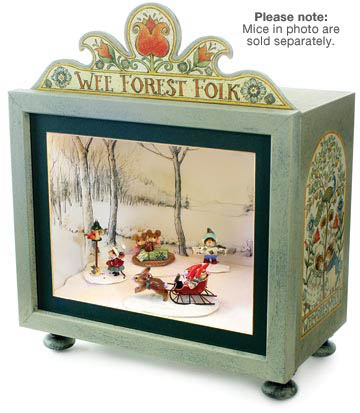 Collectible Display Box for Wee Forest Folk