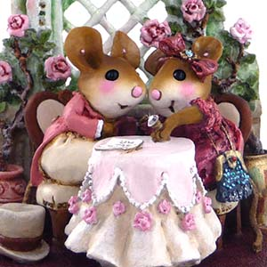 M-435 &#8220;Miss Mousey, Will You Marry Me?&#8221; &#8211; Wee Forest Folk &#8211; Engagement