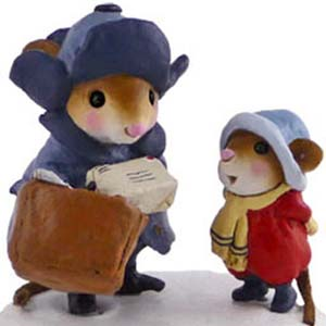 M-418 Is Today the Day? - Wee Forest Folk Collectible