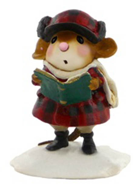 M-421 Brother Caroler – Wee Forest Folk Collectible